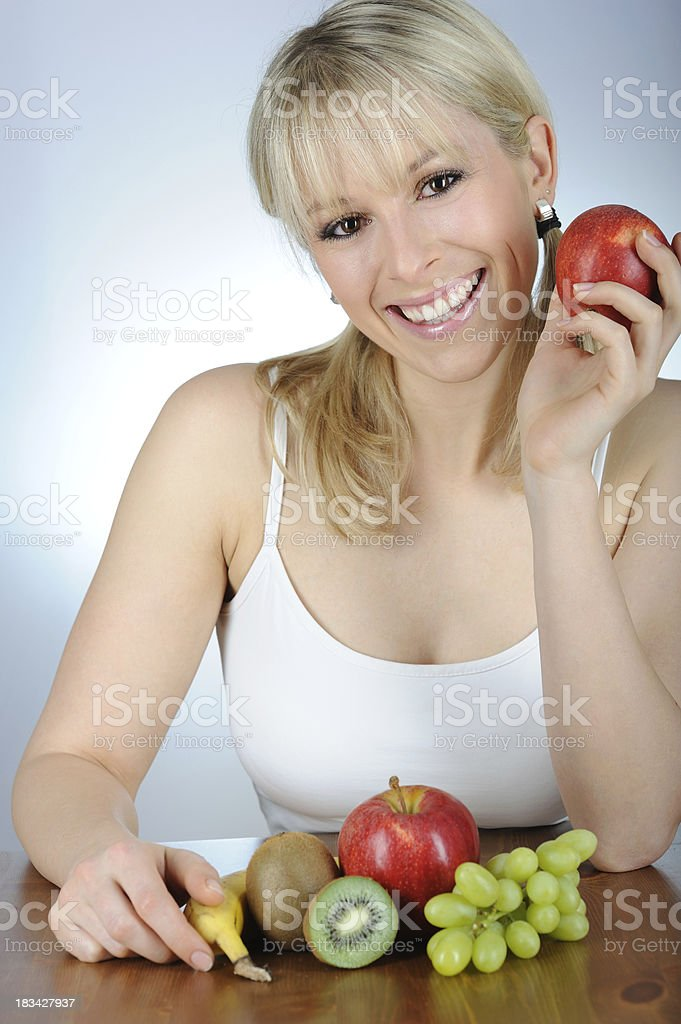 Healthy Fruits every day stock photo