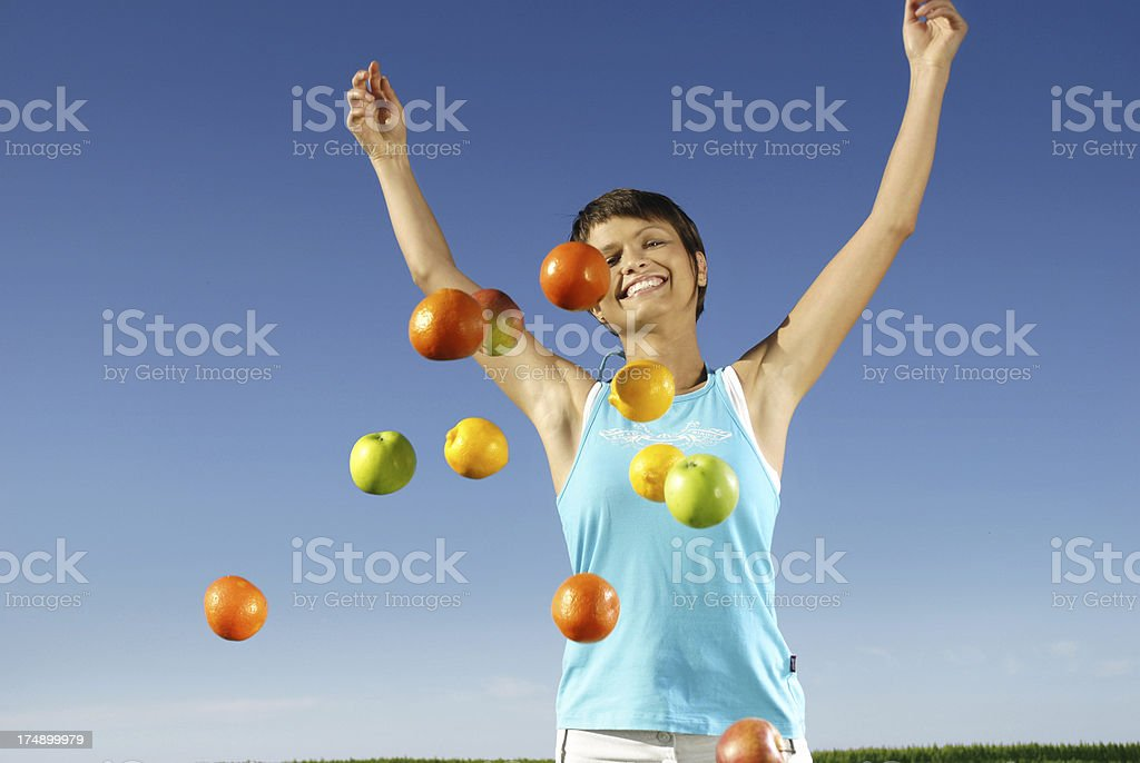 Healthy fruits royalty-free stock photo