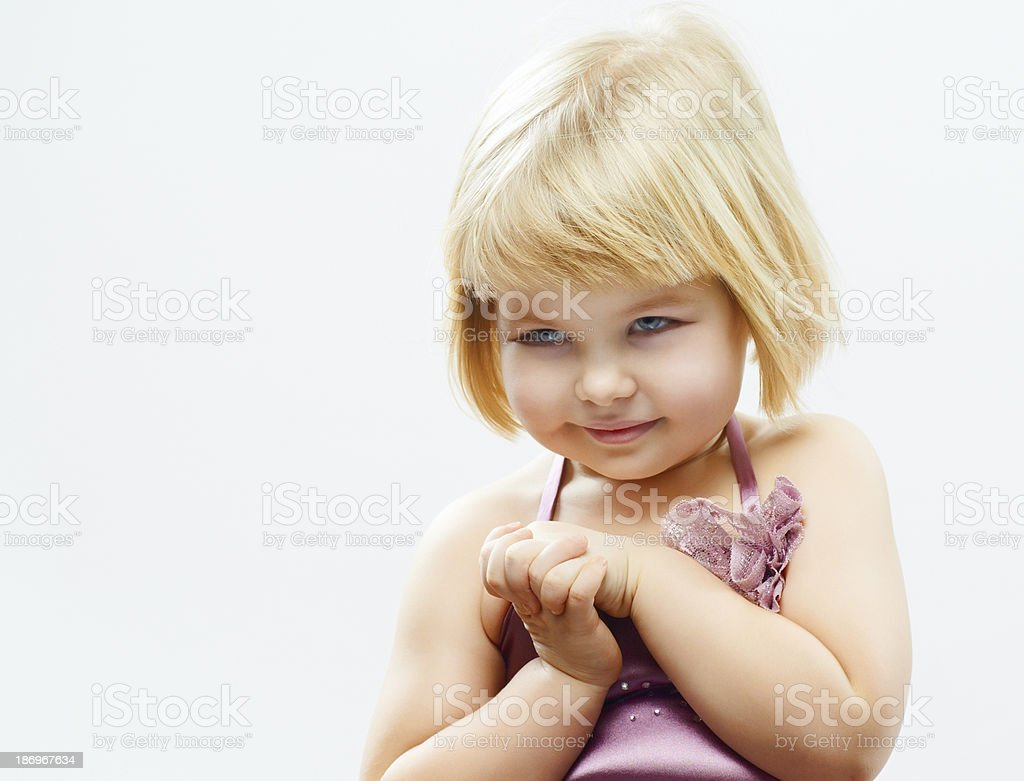 healthy girl royalty-free stock photo