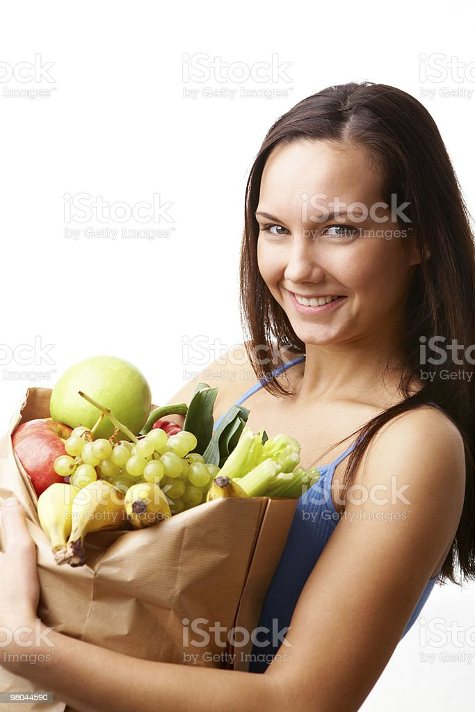 Healthy girl royalty-free stock photo