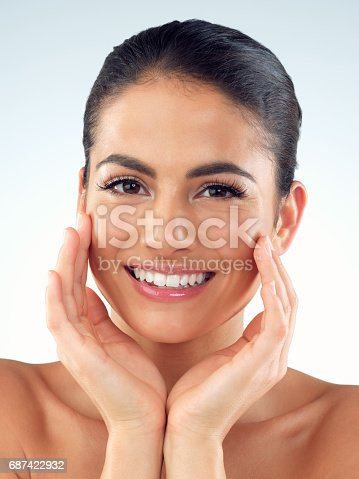 istock Healthy, glowy skin is everything 687422932