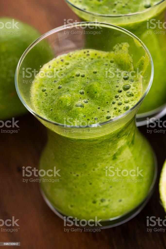 Healthy green drink, vegetable juice foto royalty-free