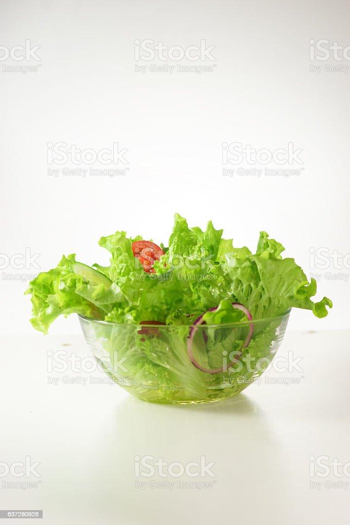 Healthy green lattuce lasalad stock photo