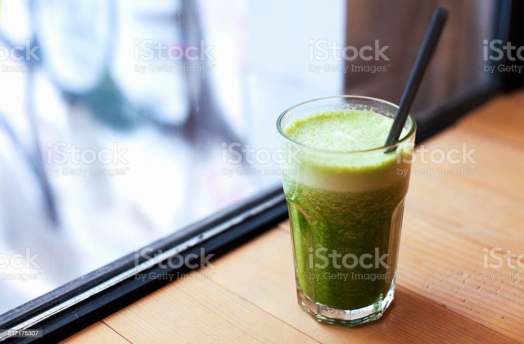 Gesundes Grün-smoothie – Foto