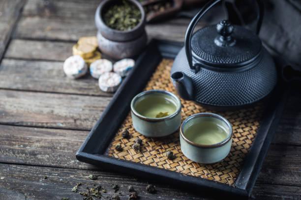 Gesunder grüner Tee – Foto