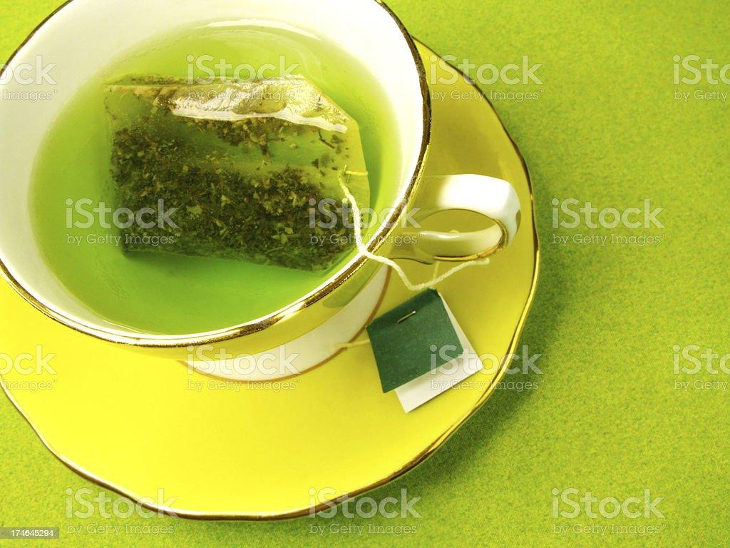 Healthy Green Tea royalty-free stock photo