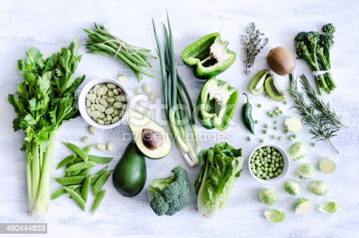 istock Healthy green vegetables 450444833