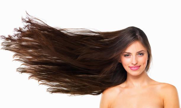 cabelo saudável é cabelo feliz - longo - fotografias e filmes do acervo