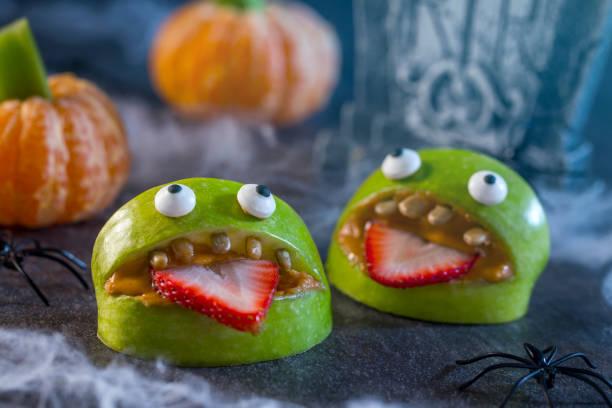 Healthy halloween apple monsters fruit kids treat picture id687850790?b=1&k=6&m=687850790&s=612x612&w=0&h= 9aevbyyt tamfjcj4lm  4khth qcsspkcvwdrz09m=