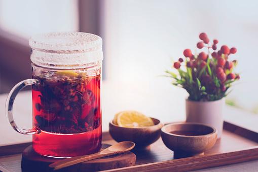 istock Healthy herbal tea 870965512