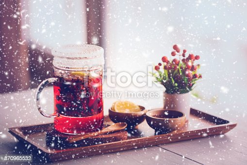 istock Healthy herbal tea 870965532