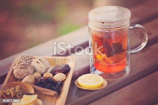 istock Healthy Herbal Tea 908017452