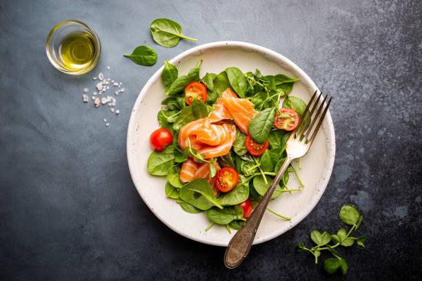 Gesunder hausgemachter Salat. – Foto