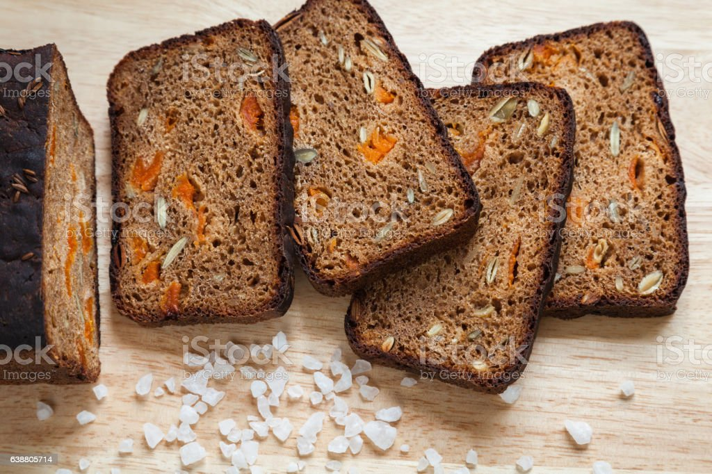 Healthy Homemade Bread stock photo