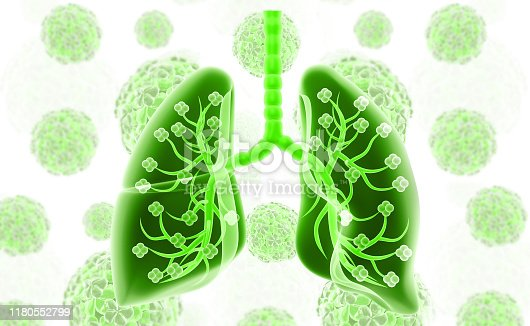 istock Healthy human lungs 1180552799
