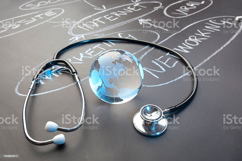 Healthy Internet strategy concept stock photo