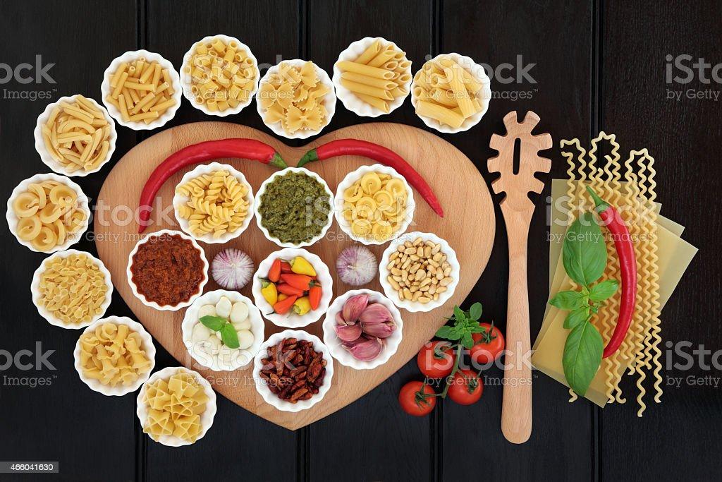 Healthy Italian Food stock photo