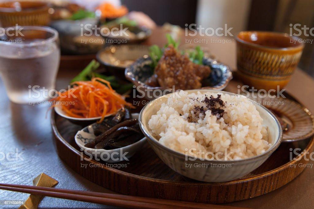 Healthy Japanese Food stock photo