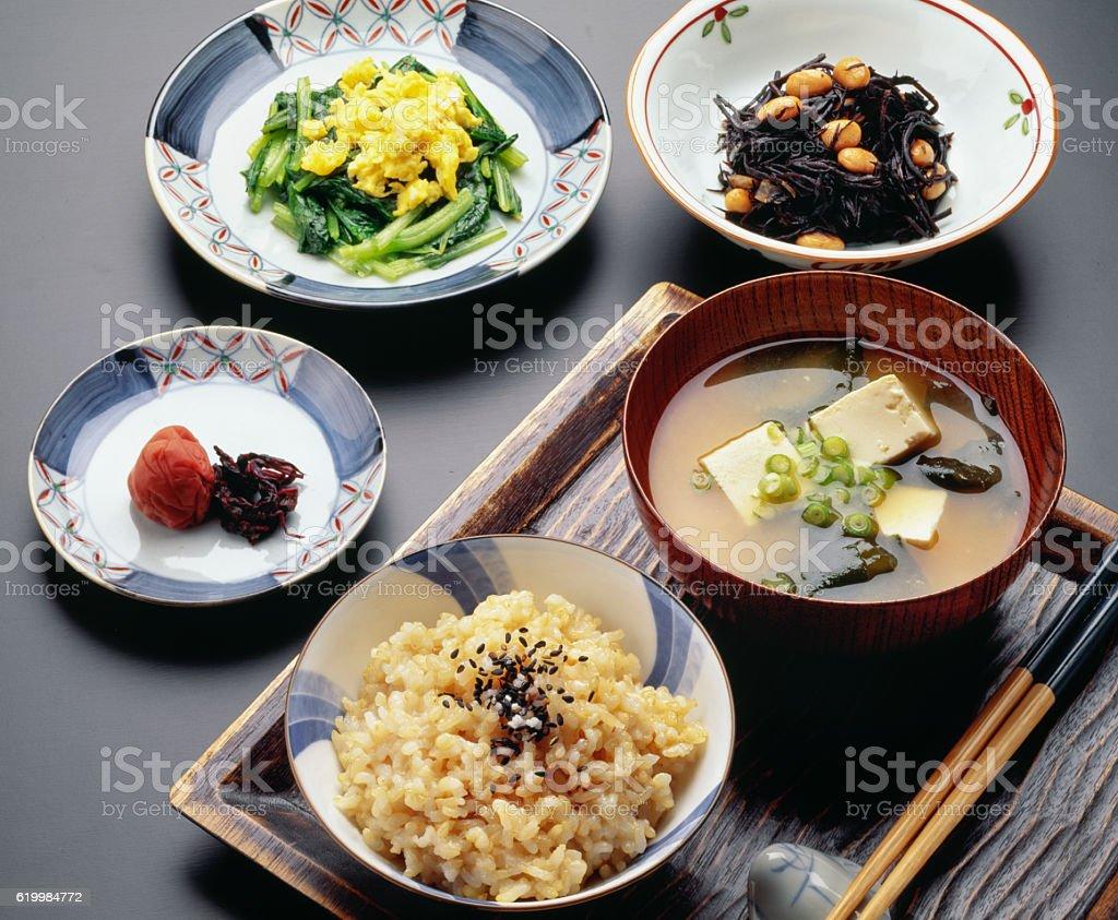 Japoneses sanos - foto de stock