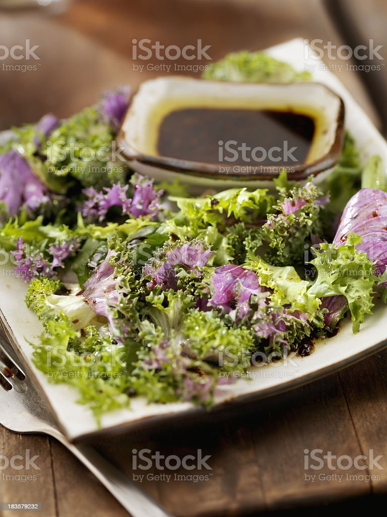 Healthy Kale Salad royalty-free stock photo
