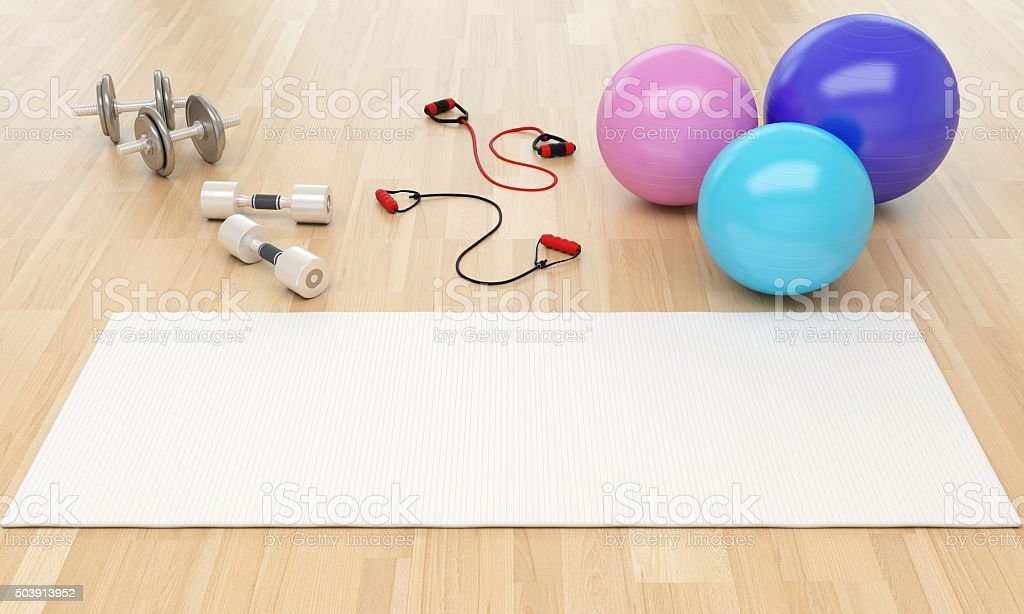 Healthy Lifestyle and Fitness Concept stock photo
