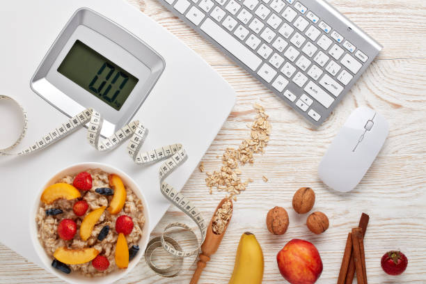 Healthy lifestyle concept. Dieting stock photo