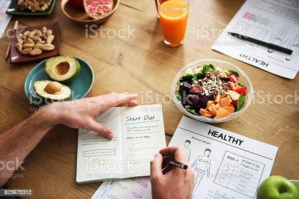 Gesunde Lifestylediäternährungskonzept Stockfoto und mehr Bilder von Gesunde Ernährung