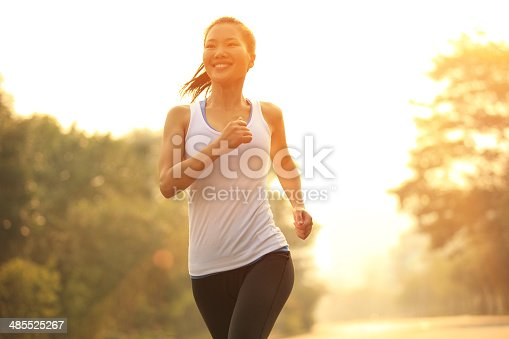 istock healthy lifestyle fitness sports woman  running at driveway 485525267