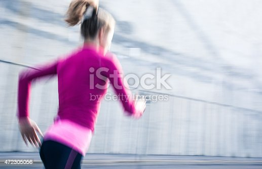 476391546 istock photo Healthy lifestyle fitness sports woman running 472305056