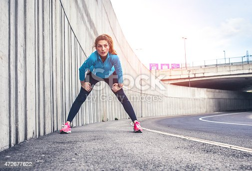 istock Healthy lifestyle fitness sports woman running 472677622