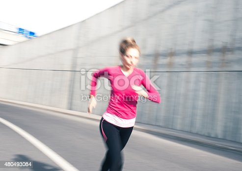476391546 istock photo Healthy lifestyle fitness sports woman running 480493084