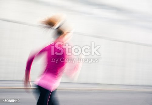 476391546 istock photo Healthy lifestyle fitness sports woman running 480685440