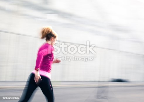 476391546 istock photo Healthy lifestyle fitness sports woman running 480687866