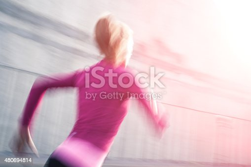 476391546 istock photo Healthy lifestyle fitness sports woman running 480694814
