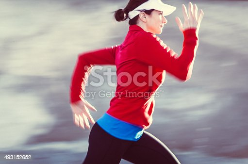 502412594 istock photo Healthy lifestyle fitness sports woman running 493152652