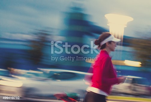 476391546 istock photo Healthy lifestyle fitness sports woman running 499419710