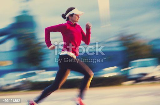 476391546 istock photo Healthy lifestyle fitness sports woman running 499421382