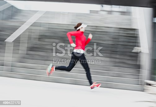 476391546 istock photo Healthy lifestyle fitness sports woman running 499422170