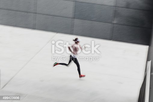 476391546 istock photo Healthy lifestyle fitness sports woman running 499423936