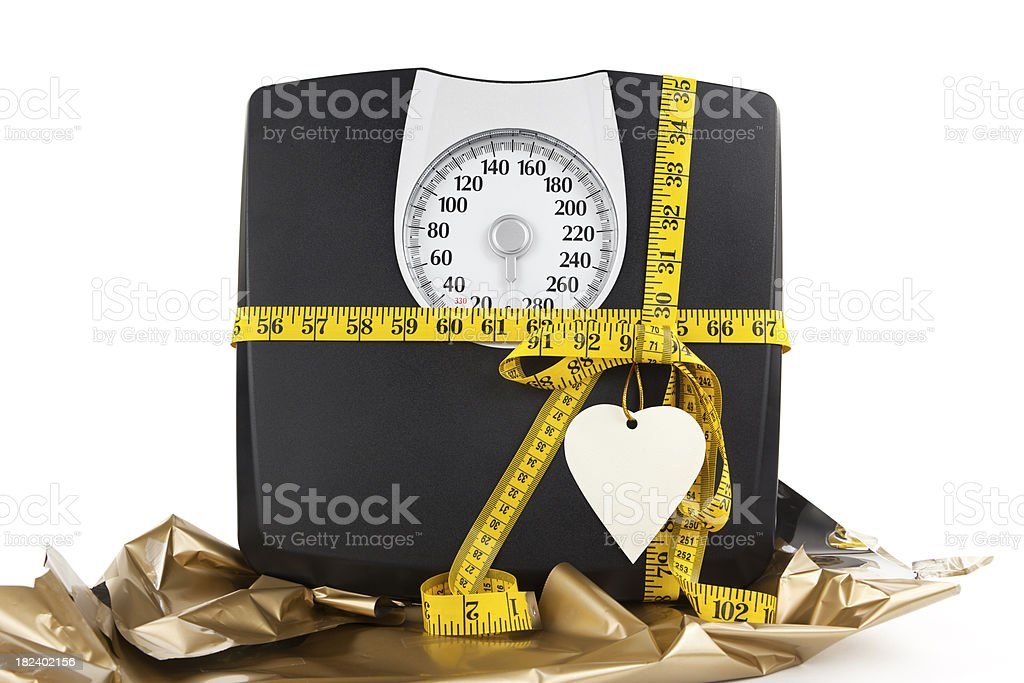 Healthy Lifestyle Gift stock photo