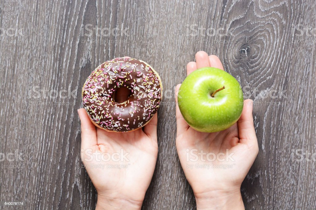 Healthy lifestyle or nutrition concept stock photo