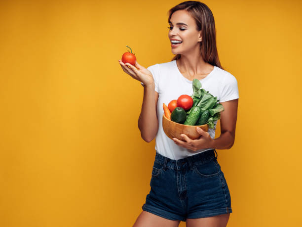 gesunder lifestyle  - karotten gesund stock-fotos und bilder