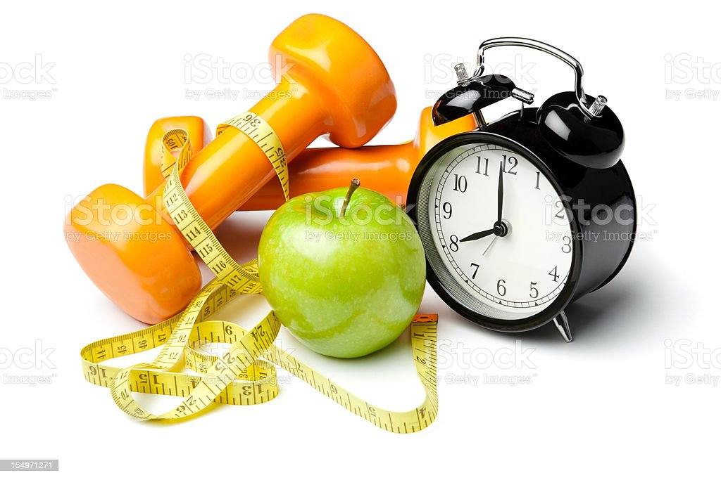Healthy lifestyle time royalty-free stock photo