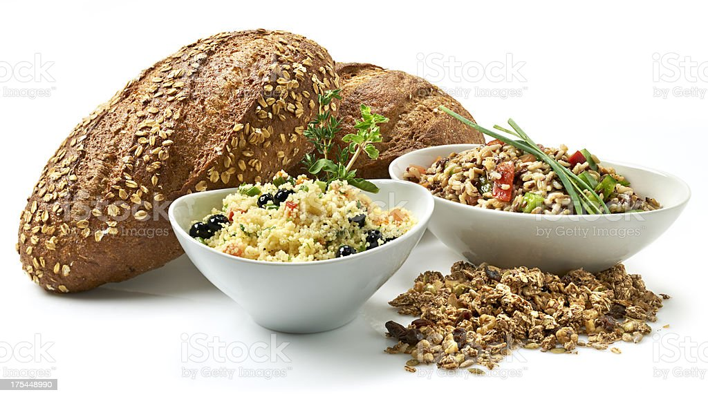 Healthy Lifestyle, Whole grains royalty-free stock photo