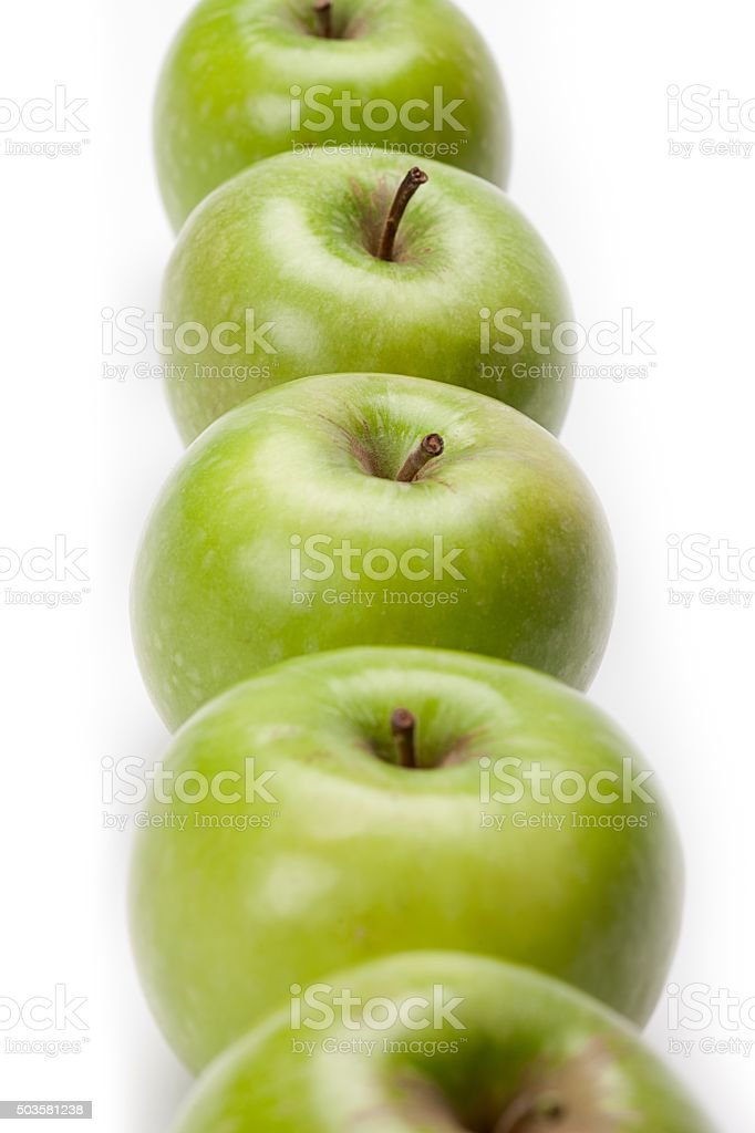 healthy line up stock photo