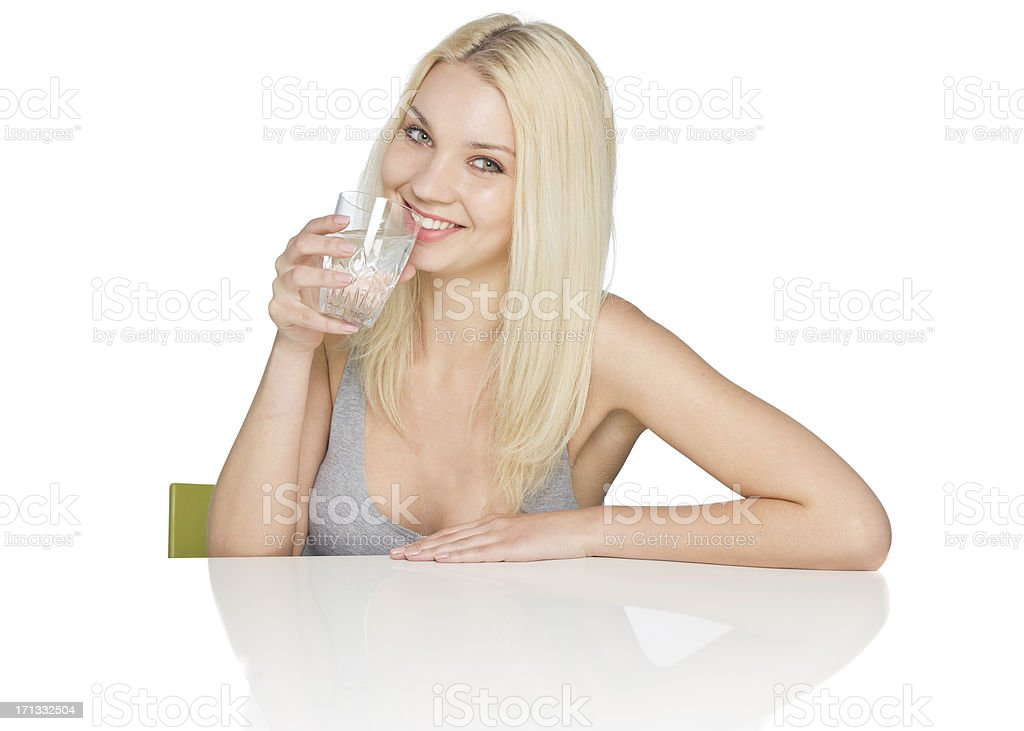 Healthy living-Water stock photo