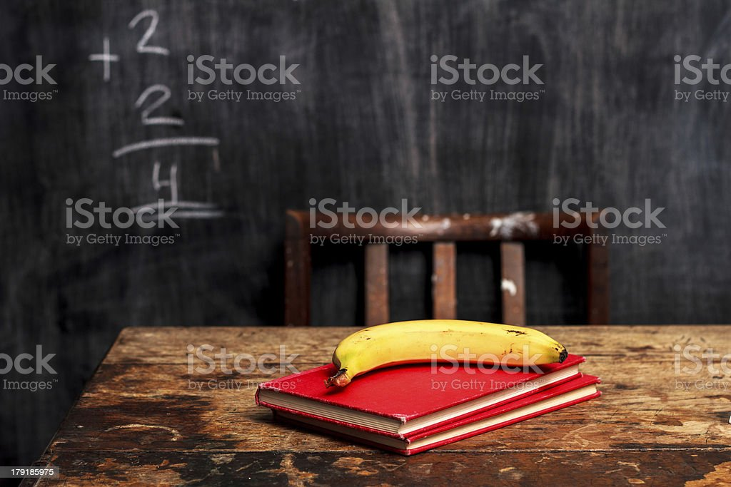 Healthy lunch at school royalty-free stock photo