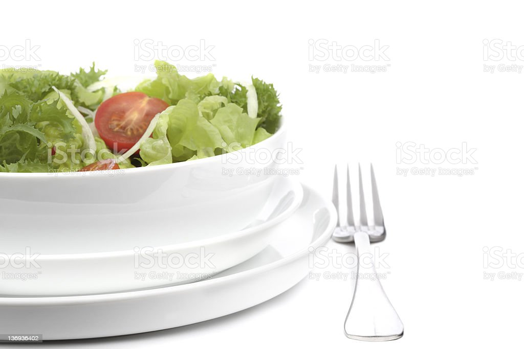 Healthy Lunch royalty-free stock photo