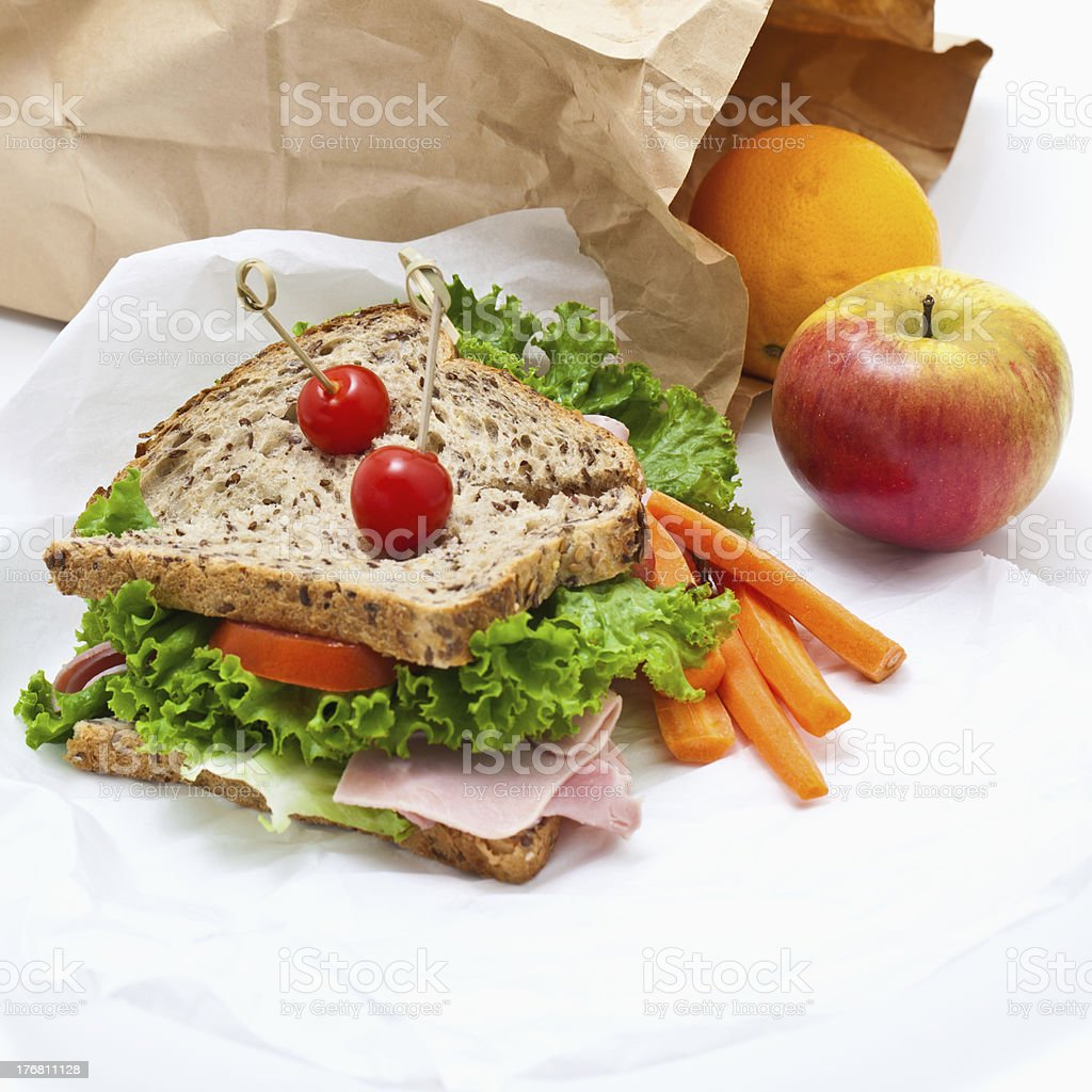 Healthy Lunch stock photo