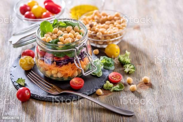 Healthy mason jar salad with chickpea and veggies diet vegetarian picture id696328776?b=1&k=6&m=696328776&s=612x612&h=g21t5hdogpdid3qkatdaytqypb1avwnsrfb4pqvphwm=